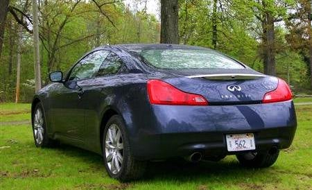 2009 Infiniti G37x Coupe rear