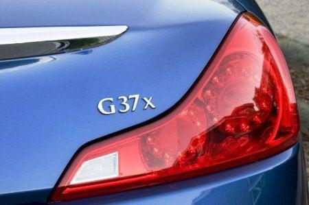 2009 Infiniti G37x Coupe