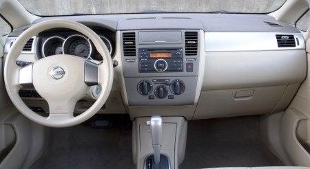 Nissan Versa Hatchback interior