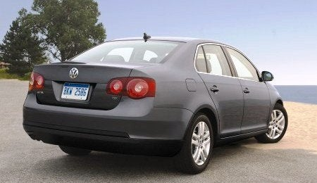 2009 VW Jetta TDI rear