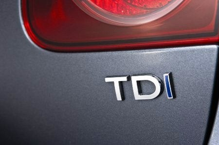 2009 VW Jetta TDI badge