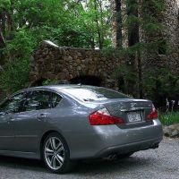 2009 Infiniti M35 rear