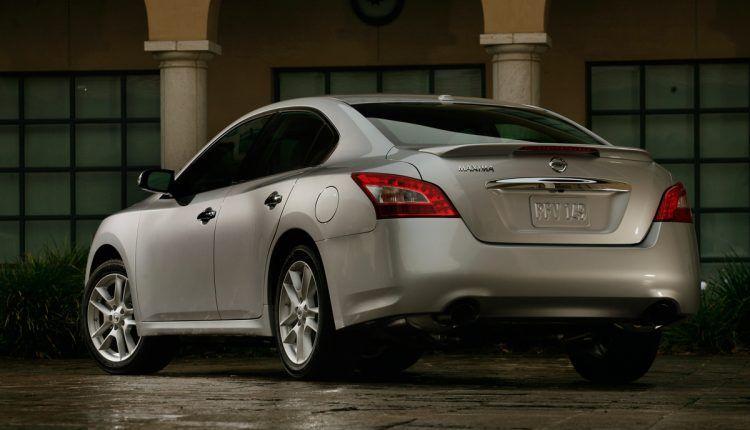 2009 Nissan Maxima rear