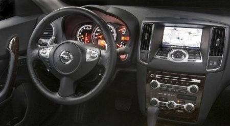 2009 Nissan Maxima interior