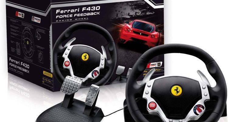Thrustmaster Ferrari F430 Force Feedback Racing Wheel