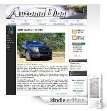 Automoblog.net Amazon Kindle