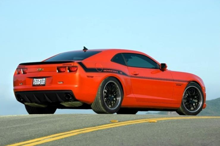 Hennessey HPE550 Camaro rear