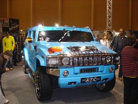 Blue Hummer