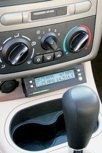 Fuel Economy Adviser mounted