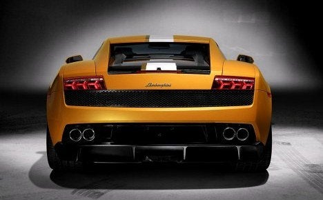 Lamborghini LP550-2 rear