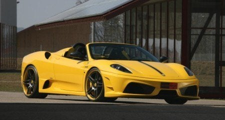 Novitec Rosso Ferrari 16M Scuderia Spider
