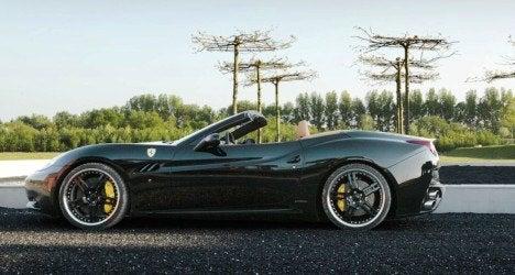 edo Ferrari California side