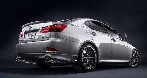 Lexus F-Sport IS rear