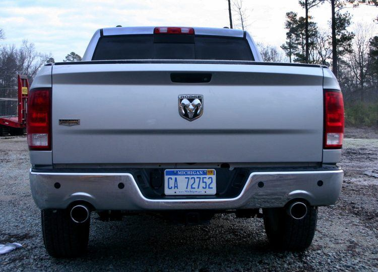 2009 Dodge Ram 1500 rear