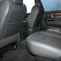 2009 Dodge Ram 1500 rear seats