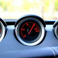 2009 Nissan 370Z gauges