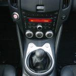 2009 Nissan 370Z center console