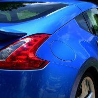 2009 Nissan 370Z rear tail