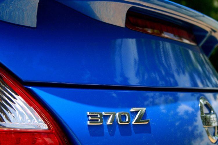 2009 Nissan 370Z rear badge