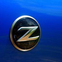 2009 Nissan 370Z side badge
