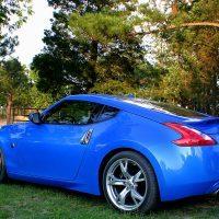 2009 Nissan 370Z rear quarter