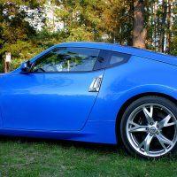 2009 Nissan 370Z side