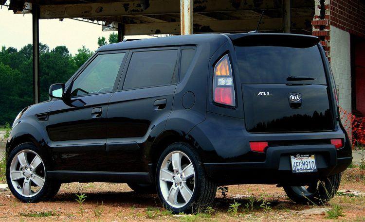 2010 Kia Soul Sport rear