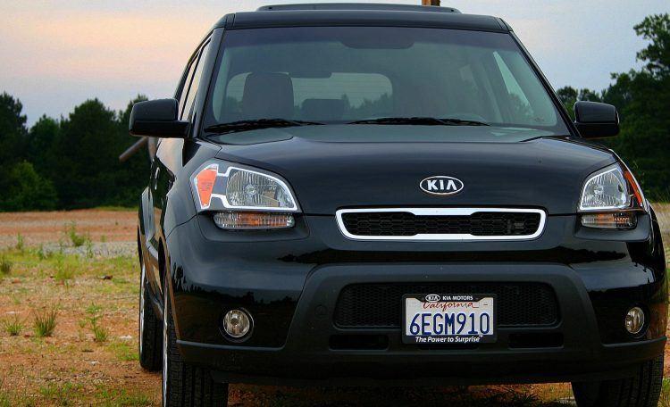 2010 Kia Soul Sport front