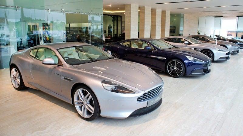 Aston Martin Charlotte Showroom
