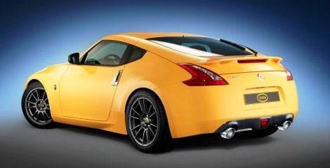 Cobra N+ Nissan 370Z rear