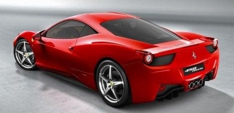 Ferrari 458 Italia rear