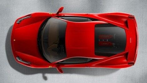 Ferrari 458 Italia top