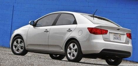 2010 Kia Forte rear