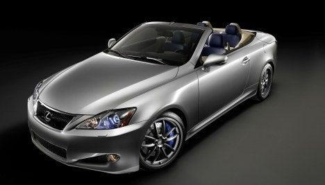 Lexus F-Sport IS C