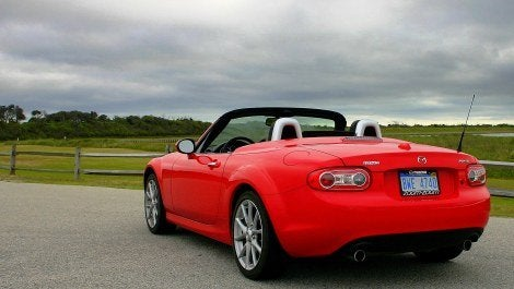 2009 Mazda MX-5 Miata rear