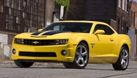2010 Chevy Camaro Transformers Edition