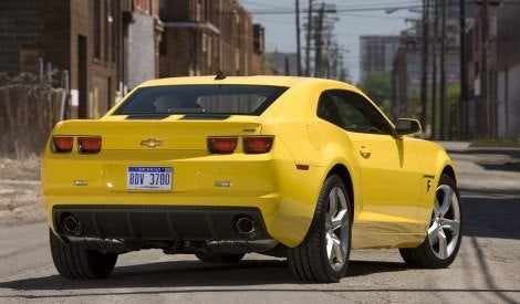 2010 Chevy Camaro Transformers Edition rear