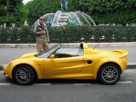 Yellow Lotus Elise