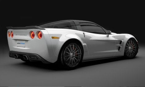 Hennessey Z700 Corvette ZR1 rear