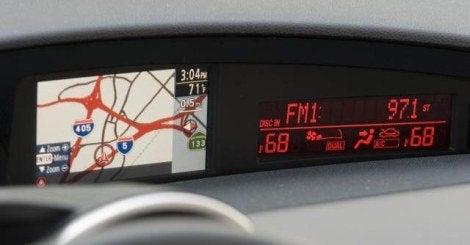 2010 Mazda Mazda3 Hatchback LCD