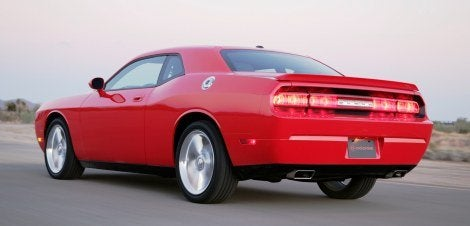 2009 Dodge Challenger R/T rear