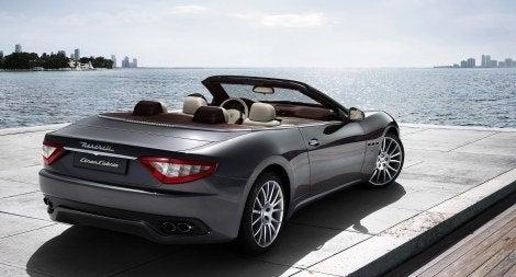 Maserati GranCabrio rear