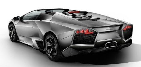 Lamborghini Reventon Roadster rear