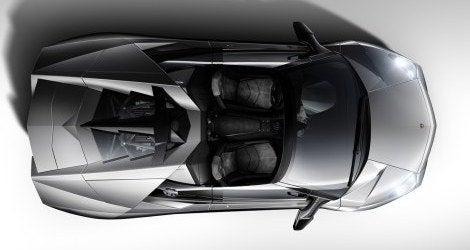 Lamborghini Reventon Roadster top