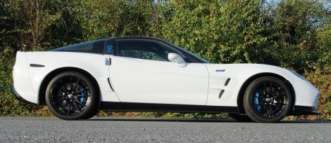 Geiger GTS Corvette ZR1 side
