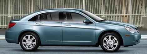 2009 Chrysler Sebring Sedan side