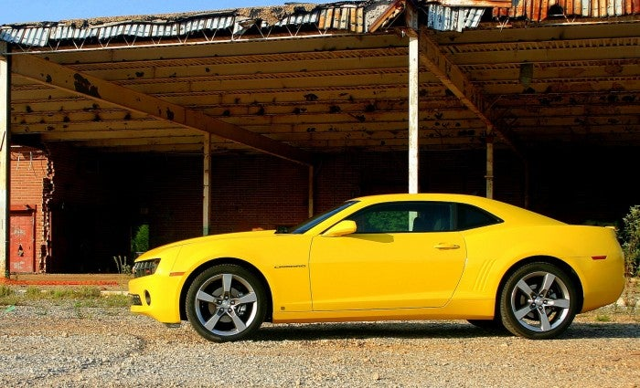 2010 Chevy Camaro side