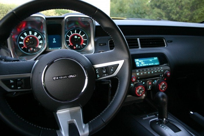 2010 Chevy Camaro Interior