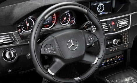 Brabus E V12 interior