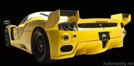 edo Ferrari XX Evolution rear
